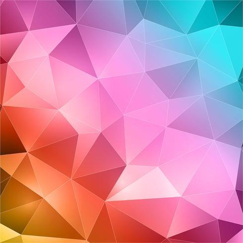 Fundo abstrato triângulos