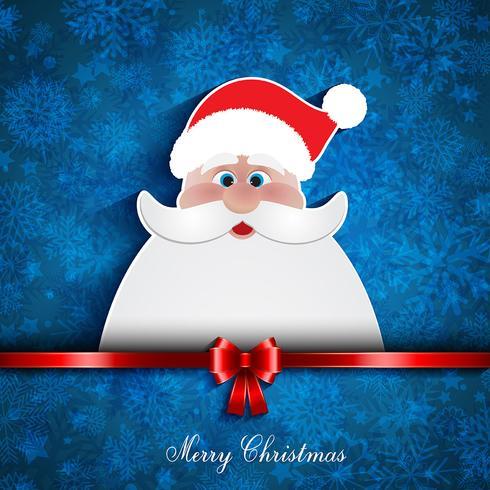Weihnachten Santa Hintergrund
