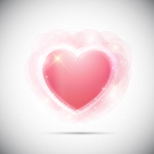 Fondo abstracto de corazones