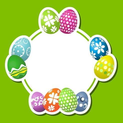 Cute Easter egg background - Download Free Vector Art, Stock Graphics & Images