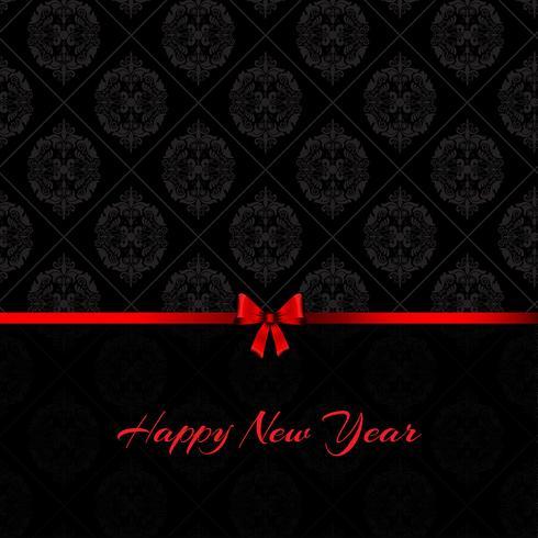 Achtergrond van het damast de gelukkige nieuwe jaar