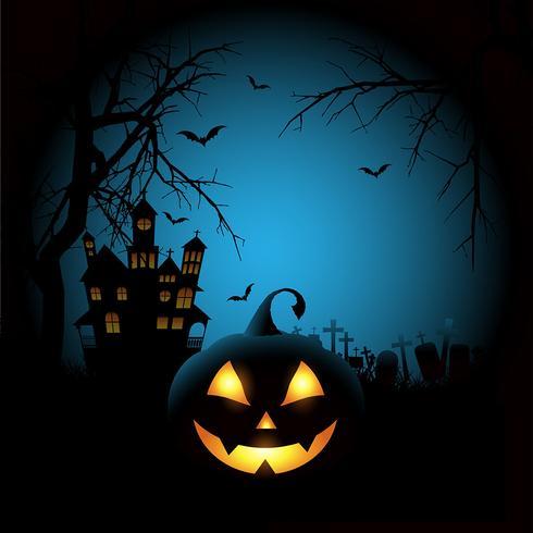 Fondo de halloween espeluznante