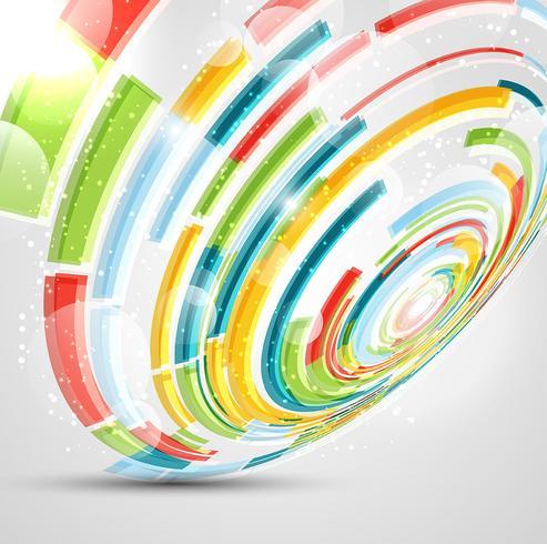 Crcle abstrakten Hintergrund