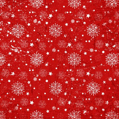 Grunge Kerstmis sneeuwvlokken achtergrond