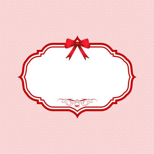 Valentines Day polka dot background