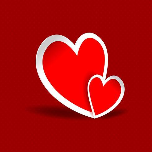 Abstracte harten achtergrond
