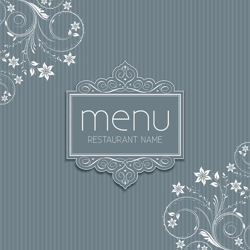 Diseño de menú con estilo