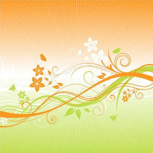 zomer floral achtergrond 1305