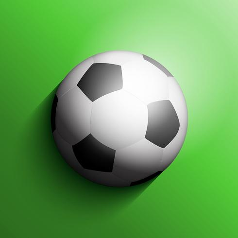 Fundo de bola ou futebol de futebol