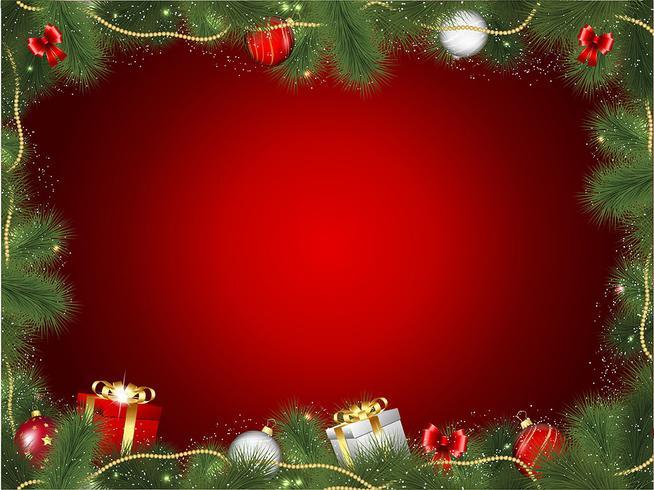 Marco de arbol de navidad