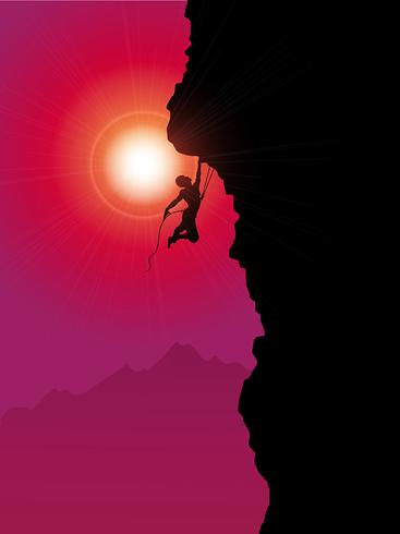 Extreme rock climber - Download Free Vector Art, Stock Graphics & Images