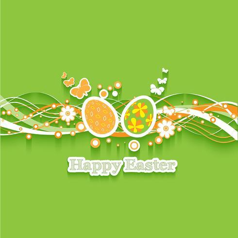 Fundo de ovo de Páscoa