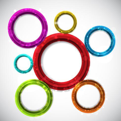 Abstrakt cirkulär design bakgrund
