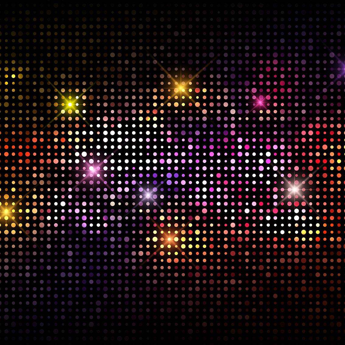 Disco lights background download free vector art stock - Club lights wallpaper ...