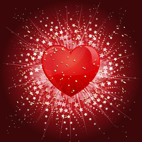 Valentines Day Heart background - Download Free Vector Art, Stock Graphics & Images
