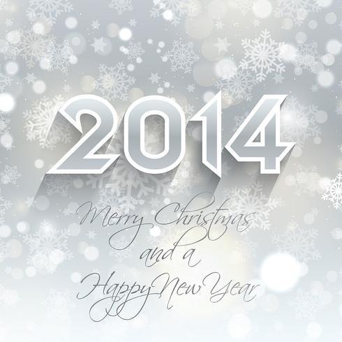 Neues Jahr Schneeflocke Hintergrund