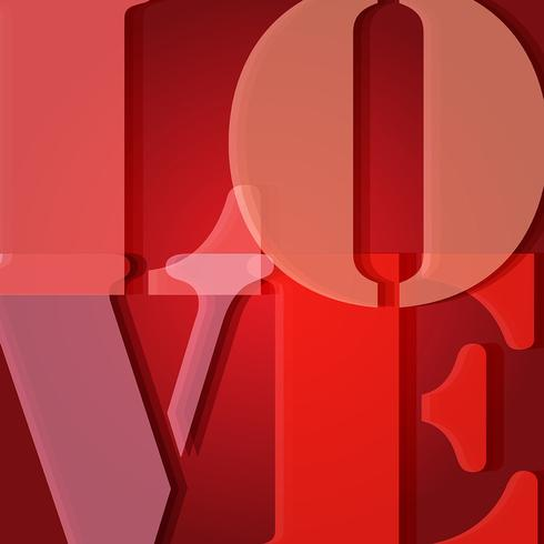 Valentine's day Love background vector