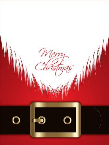 Santa Claus achtergrond vector