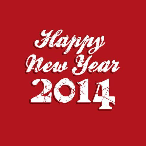 Grunge Happy New Year background