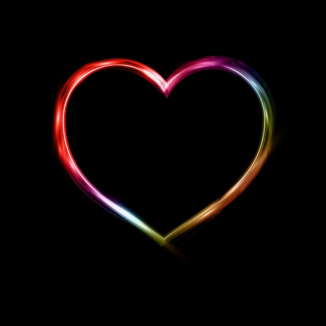 neon heart free vector art 4428 free downloads