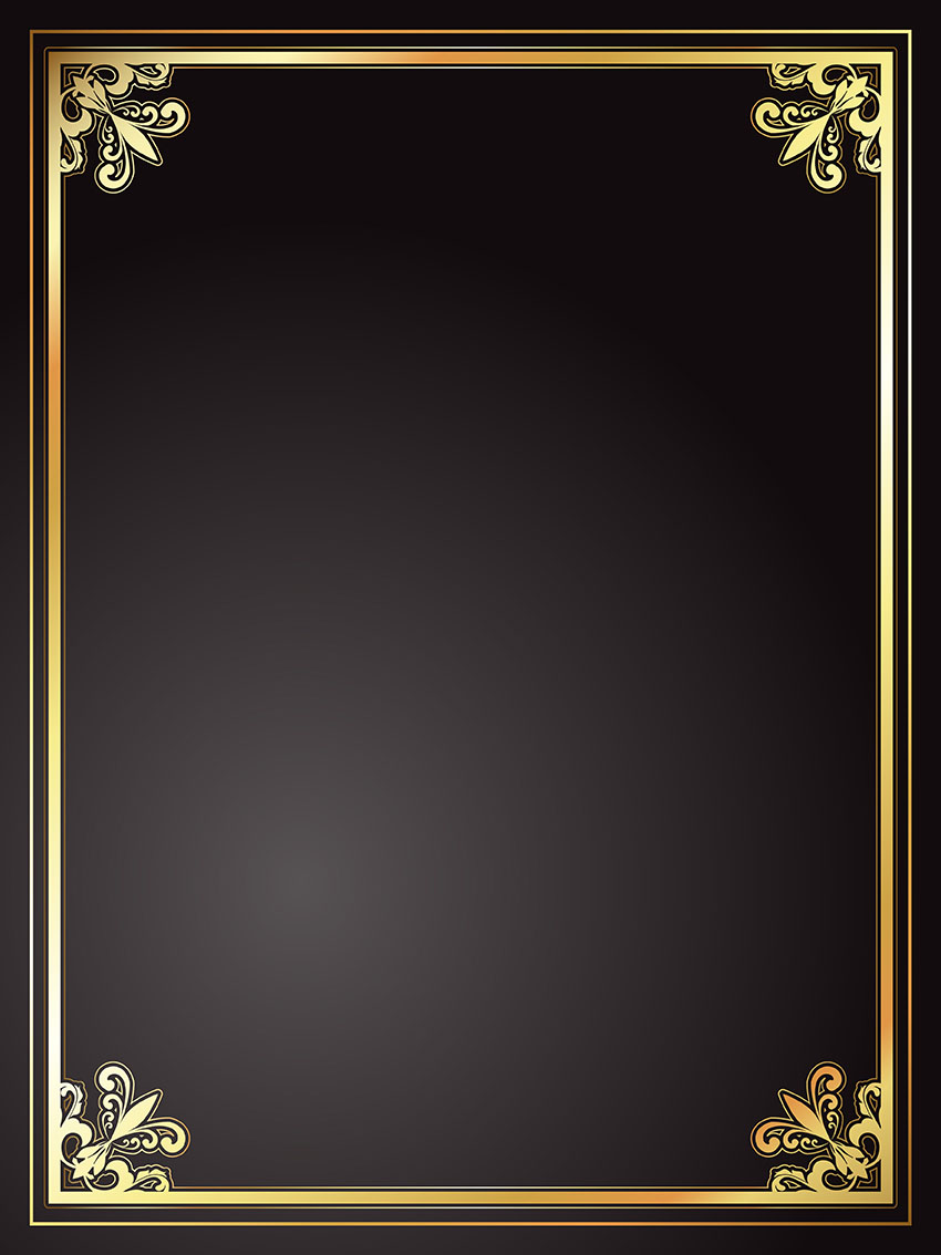 gold border free vector art 21 746 free downloads vecteezy