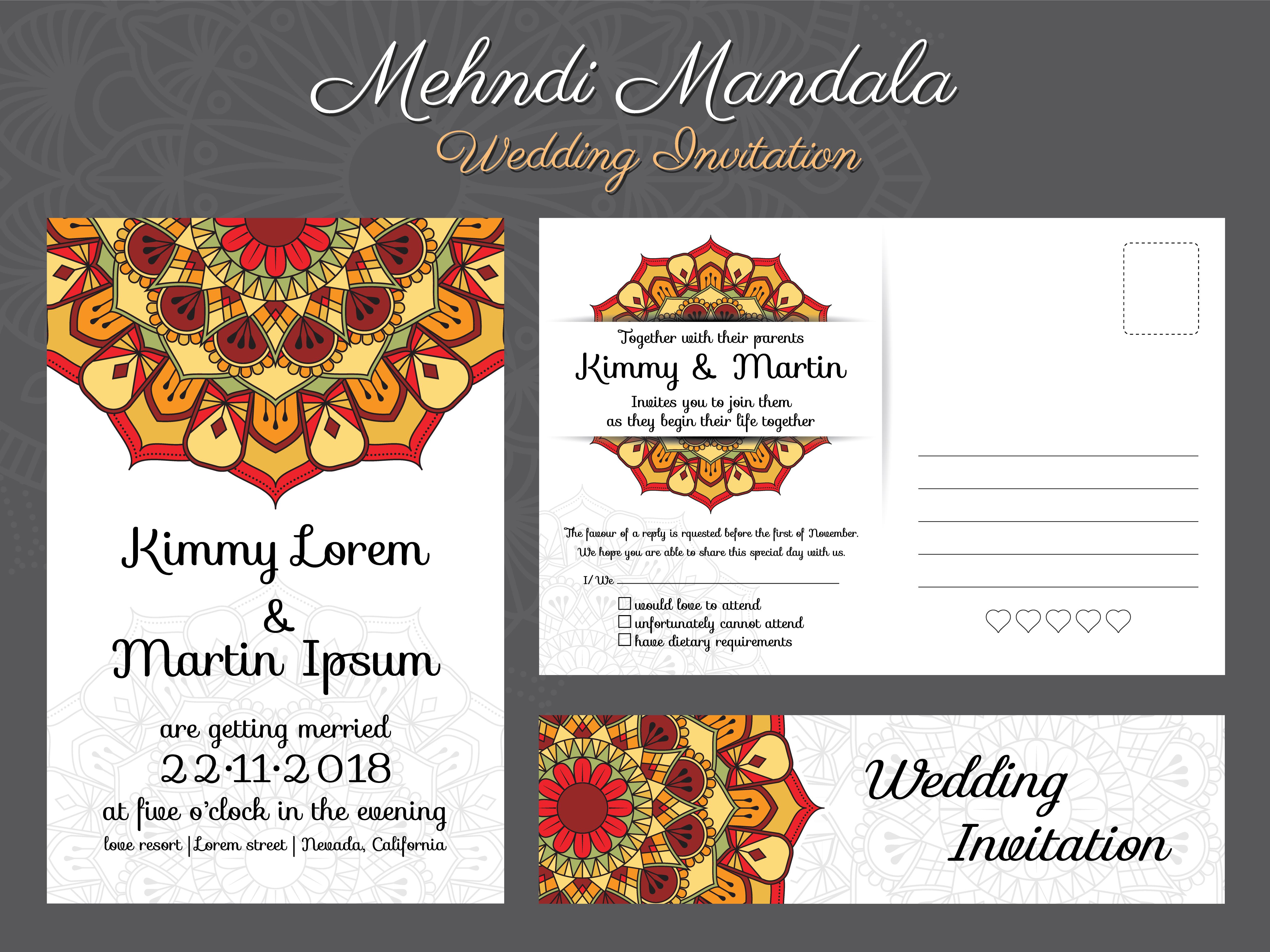 Design de carto de convite de casamento do vintage clssico com design de carto de convite de casamento do vintage clssico com bela ma download vetores e grficos gratuitos stopboris Images