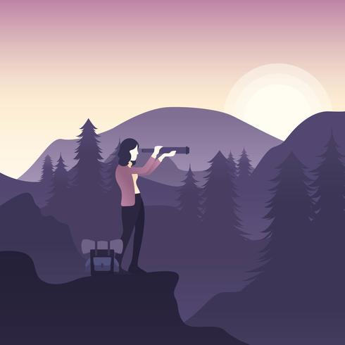 Nature Explorer Vector