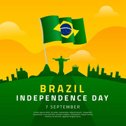 Brazil Independence Day Template