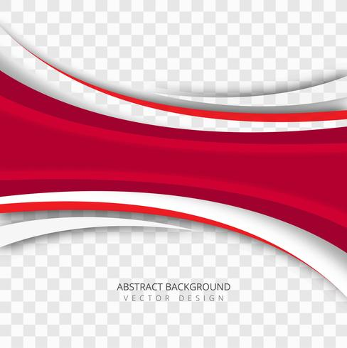 Beautiful business wave transparent background