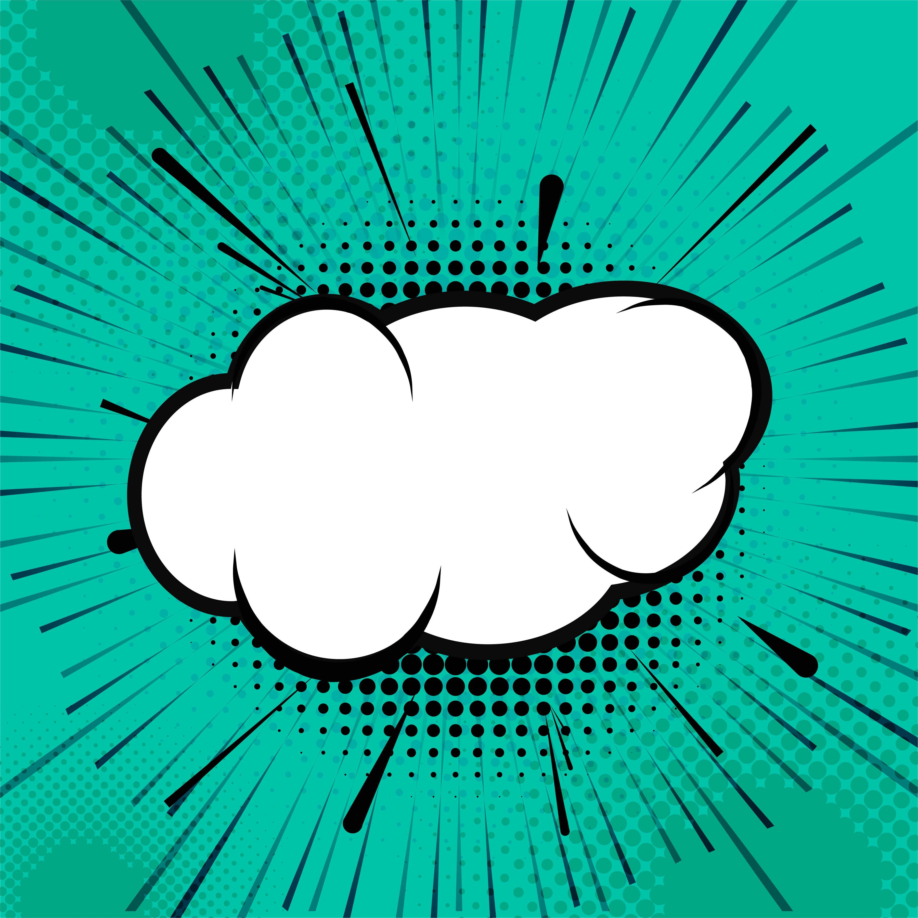 speech bubble pop art comic book background download