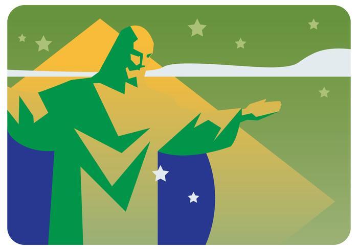 Vecteur de fête de l'indépendance du Brésil