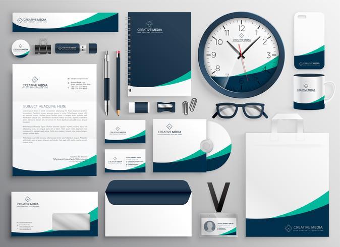 schone zakelijke briefpapier voor uw merk
