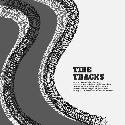 marca de pneu marcas de impressão fundo