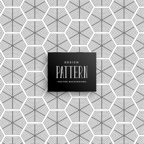 lignes hexagonales abstraites de fond