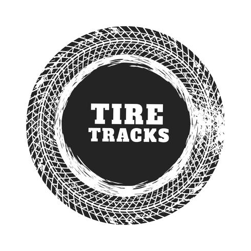 band track cirkel achtergrondontwerp