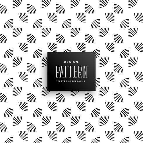 abstracte cirkelvormige lijnen patroon ontwerp