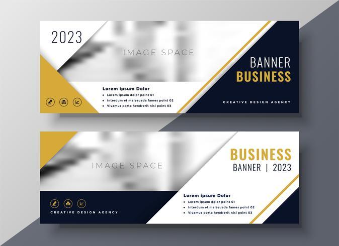 plantilla de diseño de banner de negocios corporativos