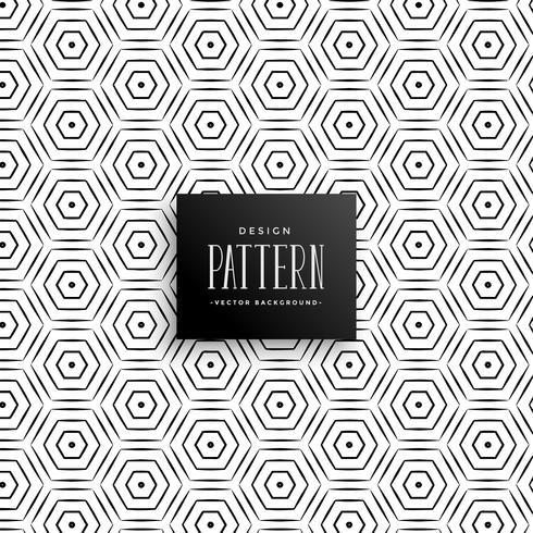 abstratas linhas hexagonais de fundo