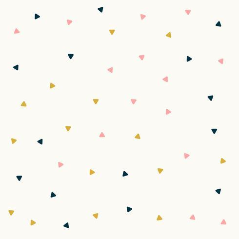 design a triangolo minimale in colori pastello
