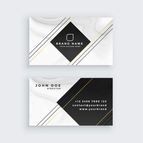 professionell visitkort design mall