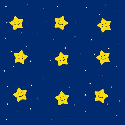 modello di stelle carino per bambini