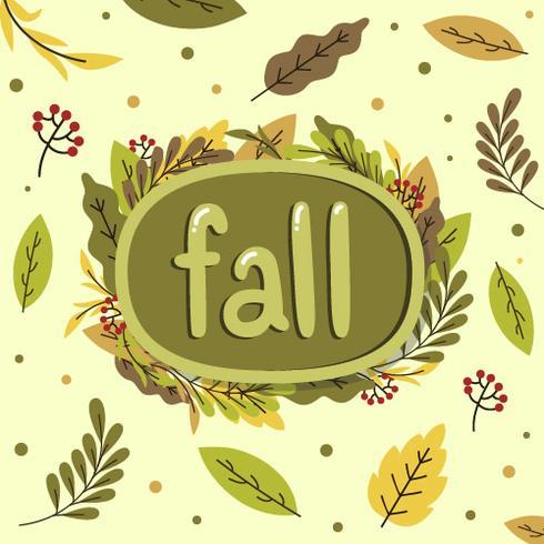 Fundo festival de outono vetor