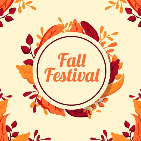 Fall Festival Achtergrond