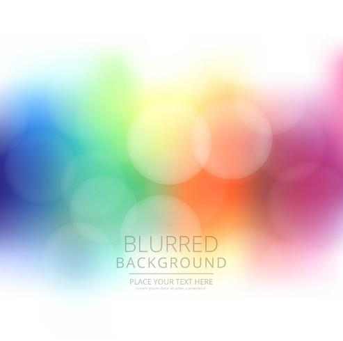 Abstract colorful blurred background illustration
