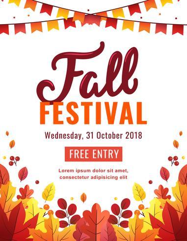 Herfst Festival Poster