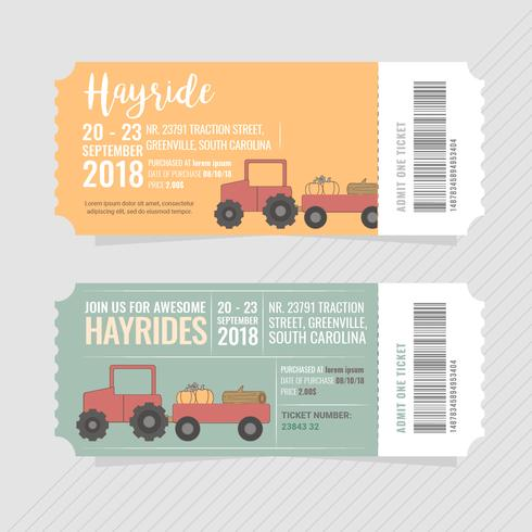 Vektor Hayrides Tickets