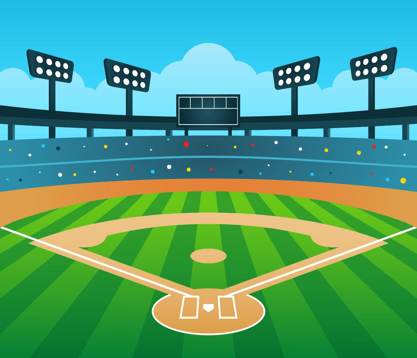 Stadium Lights Free Vector Art 9305 Free Downloads