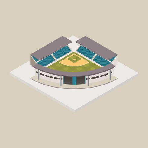 Baseball-Stadion isometrisch