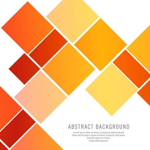 Moderne kleurrijke vierkanten vector achtergrond