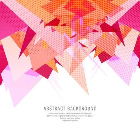 Fundo colorido abstrato polígono